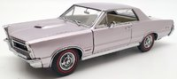 1965  Pontiac GTO in Iris Mist 1:24 scale by The Danbury Mint