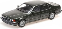 1986 BMW 730i (E32) in Green Metallic in 1:18 Scale by Minichamps