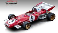 1971 Ferrari 312 B2 Mario Andretti Germany GP in 1:18 Scale by Tecnomodel