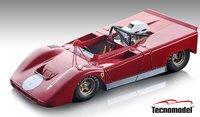 Ferrari 712 Can Am Press Version 1971 in 1:18 Scale by Tecnomodel