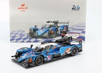 Alpine A470 2019 LMP2 Winner Le Mans in 1:18 Scale by Spark