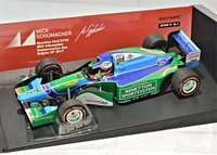 Benetton Ford B194 Belgian GP 2017 in 1:18 Scale by Minichamps