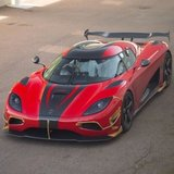 Koenigsegg Agera RS in Red 1:18 Scale by AUTOart