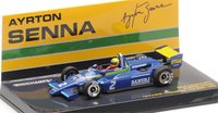 1982 RALT TOYOTA RT3 Ayrton Senna First Win in 1:43 Scale by Minichamps