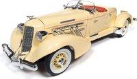 1935 Auburn 851 Speedster in 1:18 scale by Auto World