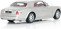2009 Rolls Royce Phantom Coupe in Silver Diecast Model Car in 1:43 Scale by True Scale Miniatures