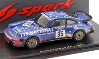 Porsche 930, No.95, Le Mans 1983  in 1:43 Scale by Spark