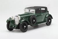 1930 Bentley 8 Litre in Green in 1:18 Scale by Truescale Miniatures