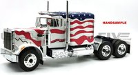 1967 PETERBILT 359 STARS AND STRIPES in 1:18 scale by Road Kings