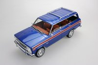 1963 Jeep Wagoneer Blue in 1:18 scale by LS Collectibles