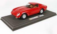 Ferrari 275 GTB Personal Car Battista Pininfarina red with Display Case in 1:18 scale by BBR