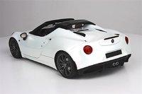 Alfa Romeo 4C White Scale Model Car in 1:18 Scale by BBR