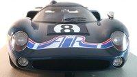Lola T70 MK3 #8 24H Daytona 1969 in 1:18 Scale by Tecnomodel