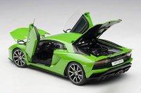 Lamborghini Aventador S in Pearl Green in 1:18 Scale by AUTOart