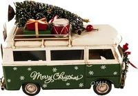 Handmade 1960s Volkswagen Bus Christmas Model by Old Modern Handicrafts