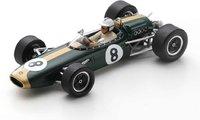 BRABHAM BT22 NO.8 MONACO GP 1966 DENNY HULME in 1:43 scale by Spark