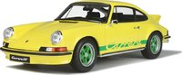 Porsche 911 2.7 RS Touring Light Yellow in 1:12 Scale by GT Spirit