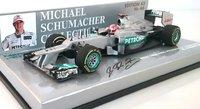 Mercedes AMG Petronas F1 2012 M.Schumacher in 1:43 scale by Minichamps