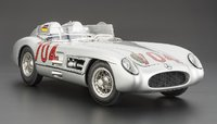 Mercedes-Benz 300 SLR Mille Miglia #704,1955 Limited Edition of 400 Pieces Signed by Hans Herrmann by CMC in 1:18 Scale