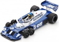 Tyrrell P34 No.3 6th Italian GP 1977 Ronnie Peterson in 1:18 scale by Spark