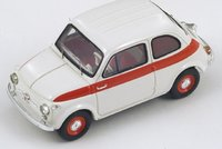 1958 Fiat 500 Sport Model Car in 1:43 Scale by Spark