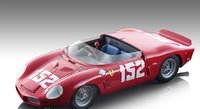 Ferrari Dino 246 SP #152 Targa Florio 1962 Winner R. Rodriguez, W. Mairesse, O. Gendebien Limited Edition 80 Pieces in 1:18 scale by Tecnomodel