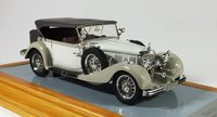 1935  Mercedes-Benz 500K Tourenwagen Cabriolet Resin Model Car in 1:43 Scale by Ilario