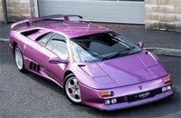 Lamborghini Diablo SE 30th Anniversary Edition Purple in 1:18 Scale by AUTOart