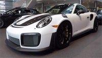 Porsche 911 (991.2) GT2 RS White in 1:18 Scale by AUTOart