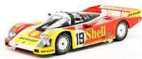 PORSCHE 962 C SHELL LE MANS 1988 #19 Mario Andretti in 1:18 scale by Norev