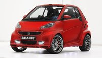 BRABUS ULTIMATE 120 (SMART) - RED Resin Model Car in 1:43 Scale by Minichamps