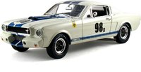 Shelby Mustang GT350R '66 #98B Ken Miles in 1:18 scale by Shelby Collectibles