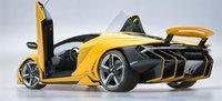 Lamborghini Centenario Yellow in 1:18 Scale by AUTOart