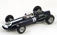 1966 BRM P261 No. 19 - 4th Monaco GP, Bob Bondurant  Model Car in 1:43 Scale by Spark