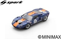 Ford GT40 No.11  6th Daytona 24H 1967  J. Ickx - D. Thompson in 1:43 scale by Spark