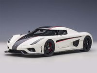 Koenigsegg Regera in White 1:18 Scale by AUTOart