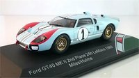 1966 Ford GT40 Mk II #1 Ken Miles Le Mans in 1:43 Scale by CMR