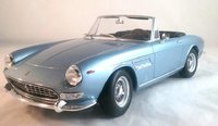 1964 FERRARI 275 GTS PININFARINA SPIDER in Blue by KK Diecast in 1:18 Scale