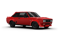 Fiat 131 Abarth Red in 1:18 Scale by Solido