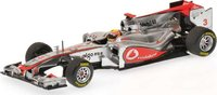 VODAFONE MCLAREN MERCEDES - SHOWCAR - JENSON BUTTON - 2012 Diecast Model Car in 1:43 Scale by Minichamps