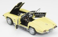 1967 Corvette L89 in Sunfire Yellow in 1:24 Scale - Last Piece