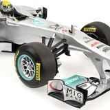 2011 MERCEDES GP PETRONAS F1 TEAM MGP W02, NICO ROSBERG Diecast Model Car in 1:18 Scale by Minichamps