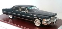 1976 Cadillac Fleetwood Brougham in Commodore blue in 1:43 scale by GIM