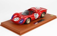 Ferrari 330 P3 Spider 24h Le Mans 1966 #27 in 1:18 scale by BBR