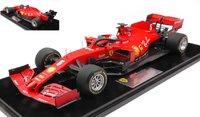 2020 Scuderia Ferrari SF1000 #5, Barcelona Test, Sebastian Vettel in 1:18 scale by LookSmart
