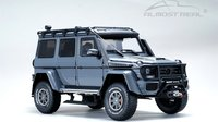 Mercedes-Benz Brabus Adventure G550 4x4² Metallic Grey Diecast Model in 1:18 by Almost Real