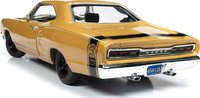 1969 Dodge Super Bee Hardtop in Yellow in 1:18 Scale by Auto World