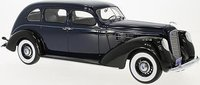 1937 Lincoln V-12 Model K Limousine in dark blue and black in 1:18 Scale by BoS Models