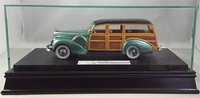 The Glass, Wood, and Mirrored Display Case for 1:24 scale Resin models