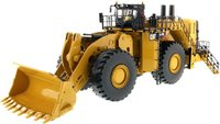 Cat® 994K Wheel Loader Rock Bucket Version in Yellow in 1:50 scale by Diecast Masters